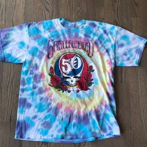 Grateful Dead 50 Year Fare Thee Well Concert Tee